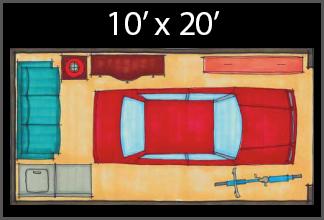 Caron Entrepôt 10x20
