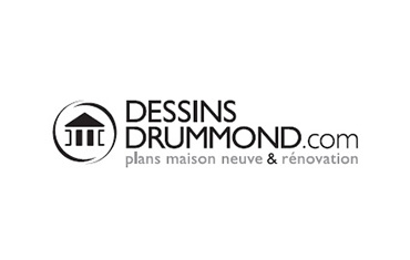 Dessins Drummond - Plan de maison