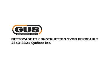 GUS - Nettoyage et Construction Yvon Perreault - Après sinistre