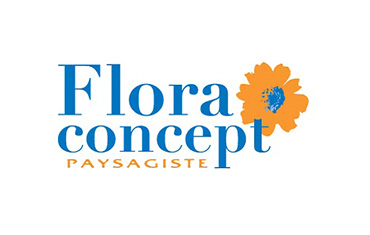 Flora concept paysagiste estriepro for Paysagiste logo