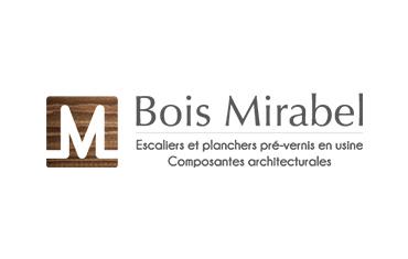 Bois Mirabel, Escaliers et planchers pré-vernis