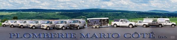 Plomberie Mario Côté camions