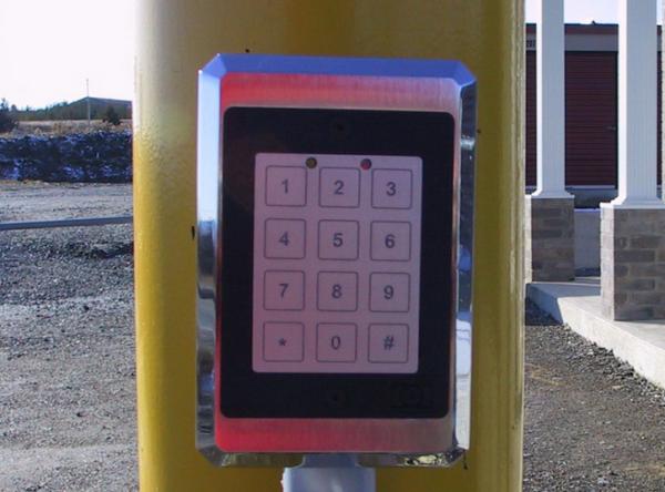 Code d'accès unique Mini Entrepôts Logic
